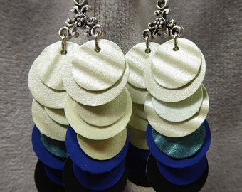 Paper earrings from beccasblend