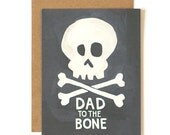 Dad to the Bone Illustrated Card//1canoe2
