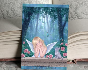 ACEO Little Miracles Angel Limited Edition Mini Print