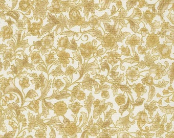 Kaufman Metallic Holiday Flourish 9 15764 15 Whimsical Floral by the yard