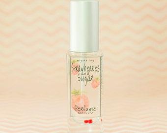 Strawberries & Sugar Perfume | Sweet Summer Berry Fragrance