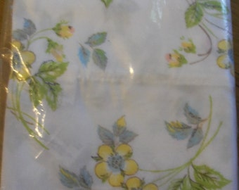 Vintage Meadowbrook Luxury Percale Flower Floral Pilowcases Set/Bed/Bedding