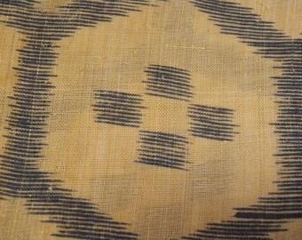 Vintage fabric S206, fabric, supplies, hemp