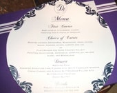 30 custom round menus-