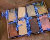 Goat Milk Soaps Sampler Family or Couples Gift Box 4