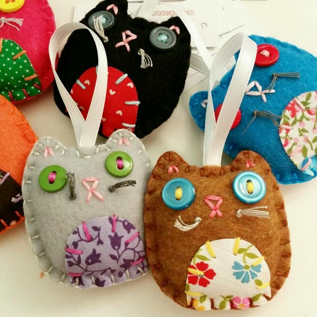 embroidery pdf patterns and felt crafts by lovahandmade on