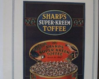 101  Sharp's Toffee Ad - 1928