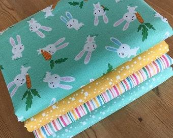 Fabric Bundle Flo's Friends  fat Eighths tissu