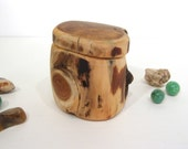 Proposal Box, engagement ring box, presentation box, Pacific Yew Wood, small wooden box, wedding ring box, ring bearer box, eco gift box