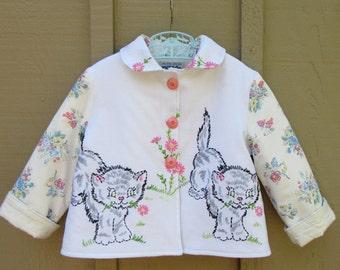 Size 4 Girls Kitty Jacket Coat