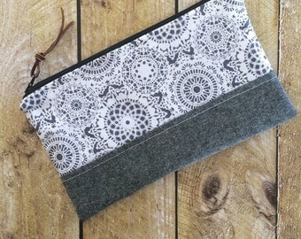 Lace Clutch - Clutch Purse - Gift for Her - Bags & Purses- Accessory - Clutch - Doily Lace Clutch - Purse