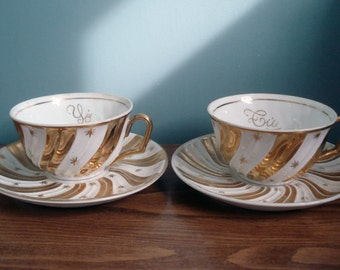 FOUND IN SPAIN -- Fabulous teacups for two - Tú y Yo