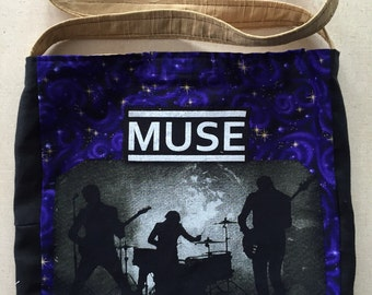 Muse purple space bag
