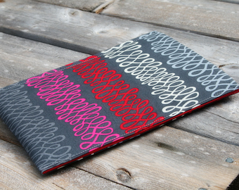 iPad Sleeve, iPad Air Case, iPad Cover, Tablet Cases and Covers in Retro Wire Made to FIT ANY BRAND tablet