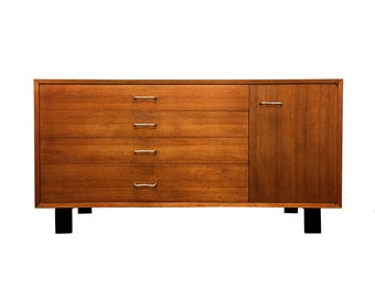George Nelson Chest Cabinet for Herman Miller Mid Century Modern Credenza Buffet Sideboard