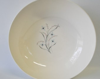 Vintage Windemere pattern Ever Yours by Taylor Smith & Taylor / retro mid century modern round vegetable bowl