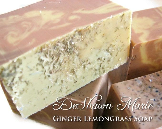 Ginger Lemongrass Handmade Soap