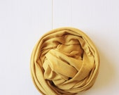 Newborn Knit Stretch Wrap, Photography Prop Mustard, Yellow, Fall, Autumn Prop