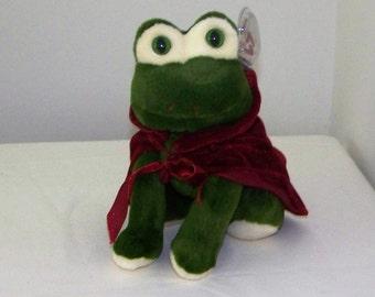 King The 1996 Ty Attic Treasure Frog