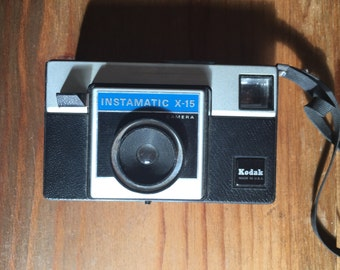 Kodak instamatic camera 1970s