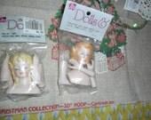 CRAFT Lot -Porcelain Doll Sets - Ribbon Roses & more
