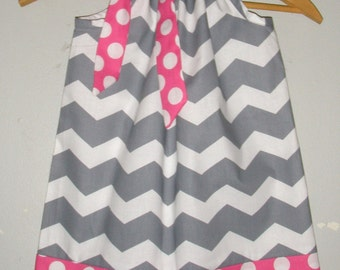 Sale Chevron Pillowcase dress 15% off coupon is till2016 Gray chevron dress available in size 3,6,9,12,18, months ,2t,3t,4t,5t,6,7,8,10,12
