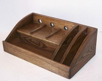 Unique Elm Wood Desk Related Items