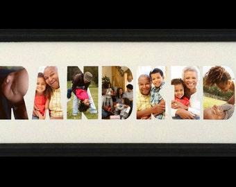 Grandkids Custom Photo Collage (mat only)