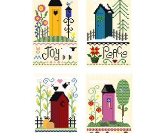 PDF -- 4 Outhouse Patterns for Nine Dollars