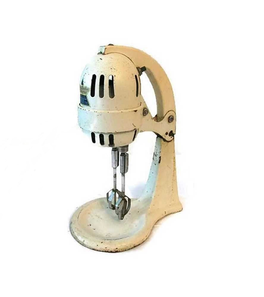 Vintage mary dunbar handymix electric mixer 1930s to 1940s for Antique general electric mixer