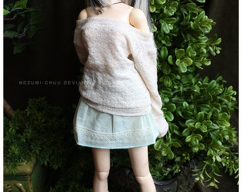 ABJD Dollfie SD Delf Musedoll Cute casual lace mini skirt