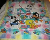 Special order for Alisha Baby Beautiful Baby Looney Tunes Characters Cotton Baby/Toddler Quilt
