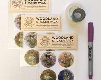Woodland Sticker Pack