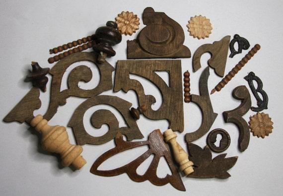 wooden furniture parts vintage wood architectural salvage