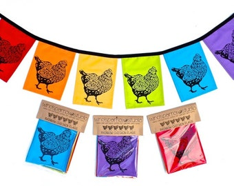 Rainbow Chickens