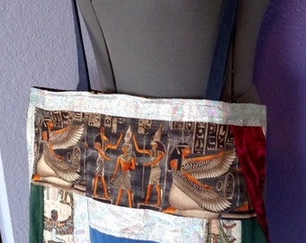 Egyptian Belly Dancer Tote Bag, Purse, Isis, Cross Body, Tribal, Fae