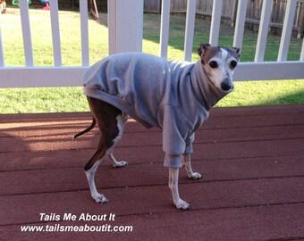 Solid Color Cotton Dog Pajama Top - Stretch Top
