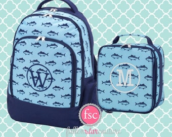 Boys  personalized backpack , Back To School , kids backpack , lunch box,  monogrammed backpack , boy backpack, FINN
