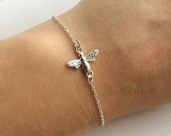 Bee Bracelet in Sterling Silver