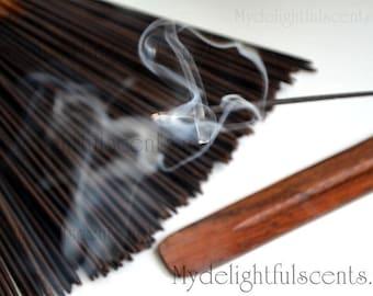 Mango Papaya Incense sticks 20 pack Hand dipped, Air dried
