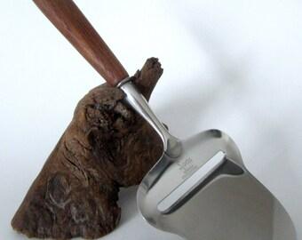 Norway Spar Stainless Steel Knife Vintage Cheese Spreader Teak Wood Handle Rustfritt 18/8 Original Box