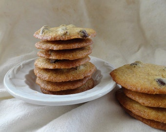 Thin & Crispy Chocolate Chip Cookies