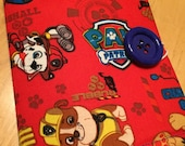 Coloring Wallet - Paw Patrol, Crayons and Paper Included