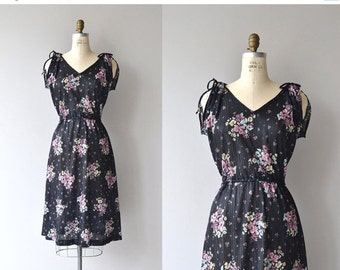 25% OFF.... Floral Mix dress | vintage 1970s dress | floral print 70s dress