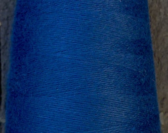 cashmere wool blend yarn 24 S/2 lace weight, teal