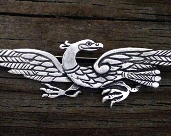 Celtic Eagle / IIar Pewter Brooch