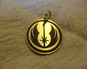 Star Wars inspired Brass Charm or Pendant