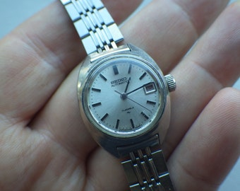 Seiko Ladies Watch - Automatic - 17 Jewel - Working - Solid Watch
