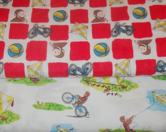 Curious george art | Etsy : curious george quilt - Adamdwight.com