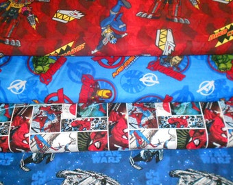 SUPER HEROS #5  Fabrics, Sold INDIVIDUALLY not as a group, by the Half Yard
